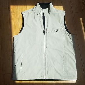 Reversable fleece vest